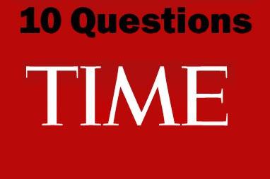 10 שאלות - מגזין טיים